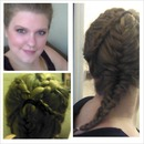 Four Dutch braid/fishtail