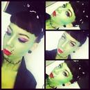 Frankenstein Pinup