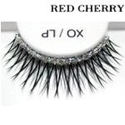Red Cherry Shimmer & Feather Lashes - XO