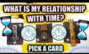 PICK A CARD & SEE WHAT IS YOUR RELATIONSHIP WITH TIME? │ WEEKLY TAROT READING ♥