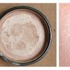 Homemade Makeup Swatches | Silver Cream