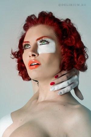 Model dana Popa Makeup Georgiana Ionita(http://georgianaionita.com) photo by Andreea Retinschi (http://delirium.ro)