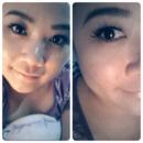 Simple Eyes makeup look