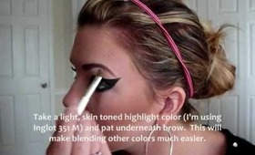 Eastern Indigo Snake Inspired Makeup