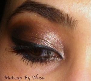 Brown smokey eye :)