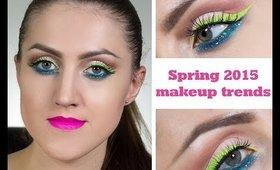 Spring 2015 makeup trends (english subtitles) / Тренды макияжа 2015