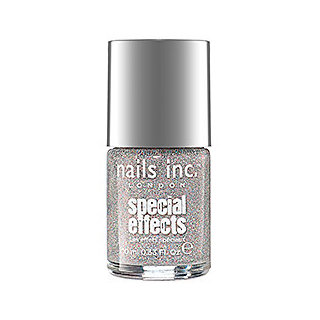 Nails Inc. London Electric Lane Holographic Top Coat