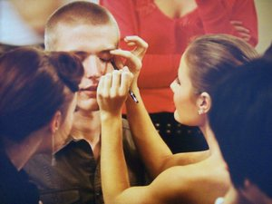 Me doing another models makeup for the Doll House show