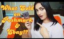 Made $176 in 1 Week | It was a Slow Resale Week | What sold on Poshmark and Ebay | Part Time Resale