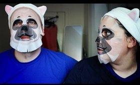 [ENG] Try it Claudia! Holika Holika / Baby Pet Magic Mask Sheet (Pug)