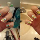 Rainbow Splatters <3