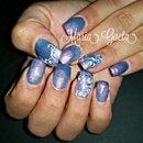 Violet Nails/Rose/Nails