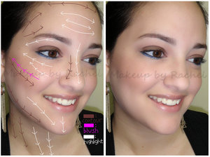 Step by step instructions: http://rachelshuchat.blogspot.ca/2012/07/contourhighlight-tutorial-and-fotd.html