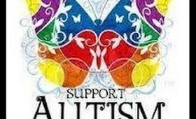 april autism month nail art