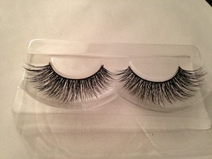 "Beautiful soft, fluttery ""DreamGirl"" lashes from Minxlash.com"