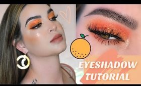 Orange you glad 🍊NEW COLOURPOP🍊 Bright Eyeshadow Tutorial