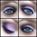 Purple and Brown Smokey Eye