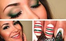 Cozy Holiday Makeup & Nails