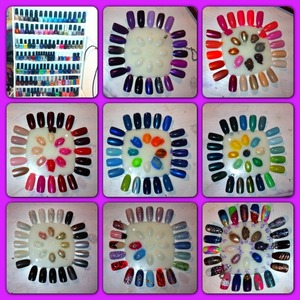 I love me a stash and swatch pic! Lol. Follow me or like my FB page! https://www.facebook.com/Ashesnailart