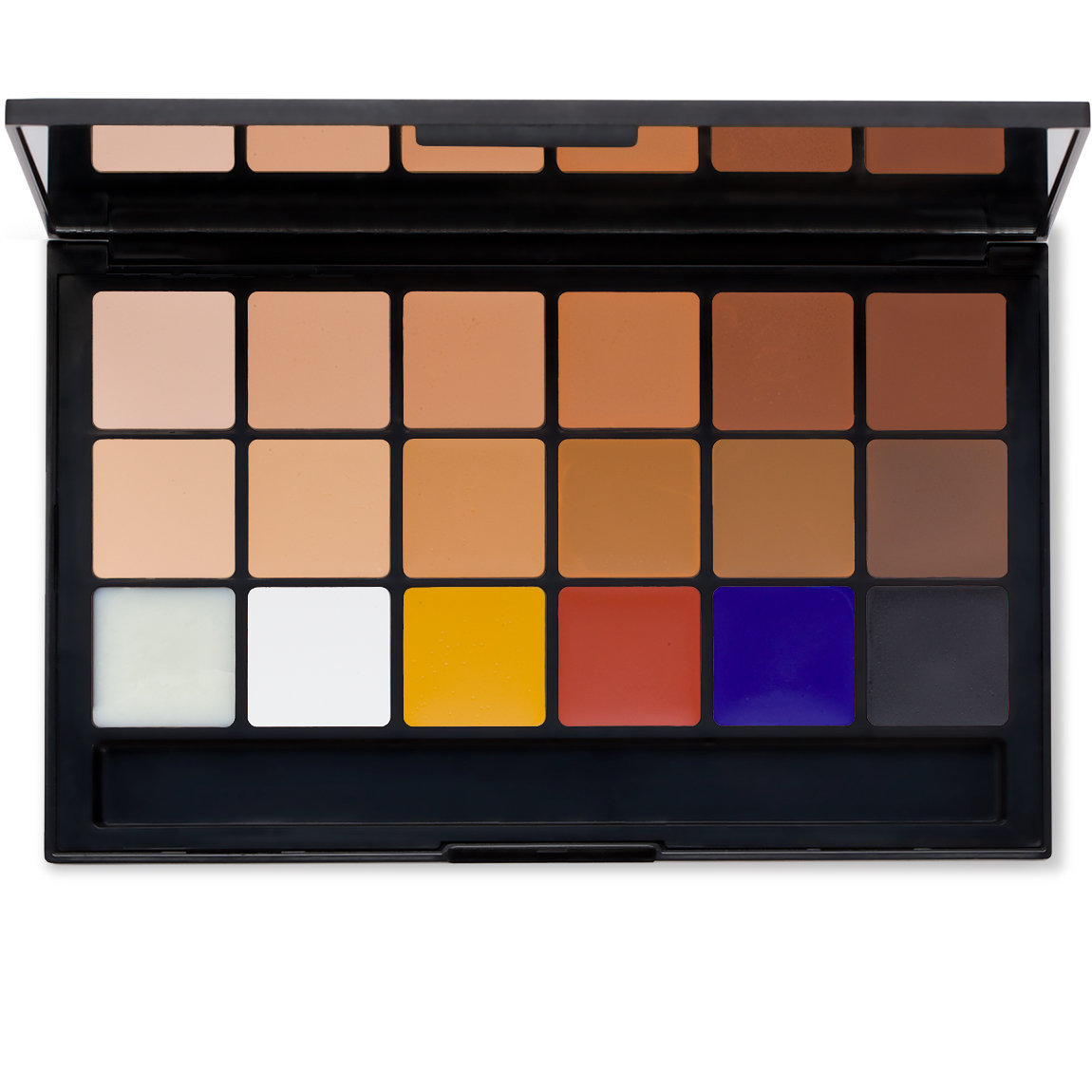RCMA Makeup Kevin James Bennet Complexion Palette product swatch.