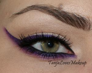 Rihanna inspired eyeliner
