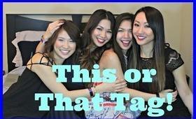 Tag with FashionbyAlly, MissTiffanyMa & Daiserz89!  This or That Hair 