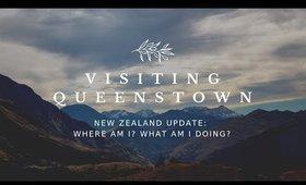 I'm in New Zealand! Visiting Queenstown