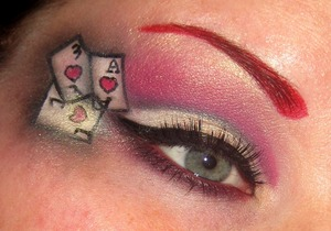 www.facebook.com/makeupfrenzy Saw a look on google images similar to this and wanted to try it out!