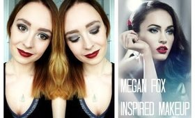 Megan Fox Inspired Makeup Tutorial 2014