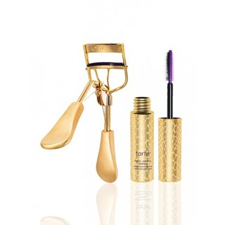 Tarte strike a pose picture perfect™ eyelash curler & deluxe lights, camera, flashes™ mascara