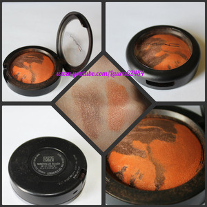 Bronze and Orange glowy blush