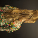 Long Bardot Inspired Hair