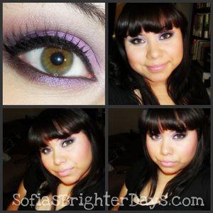 Smokey Purple [my fave eye look]