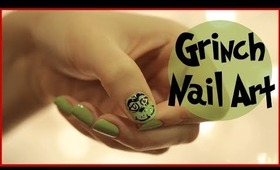 Nail Art for Christmas: THE GRINCH!
