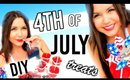 DIY 4th of July Treats!