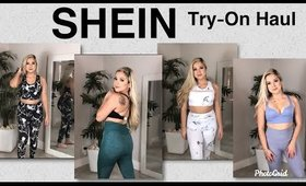 SHEIN Try-On Haul 2020 - Affordable Workout Clothes