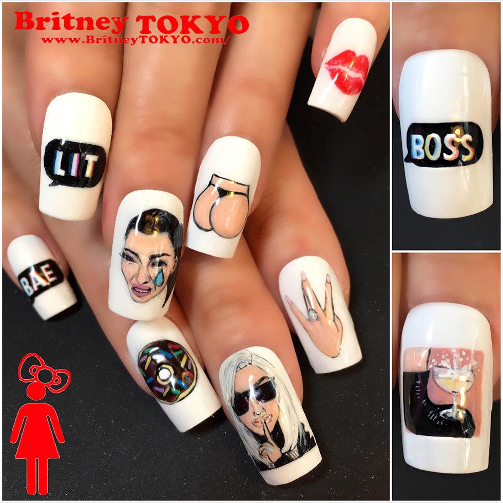 Nail Artist Spotlight: Britney Tokyo   Beautylish