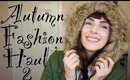 Fall Fashion Haul #2 ft. SammyDress, Romwe, Persunmall, Schuh... & SammyDress Giveaway Winners!