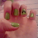 Vampy Monster Nails