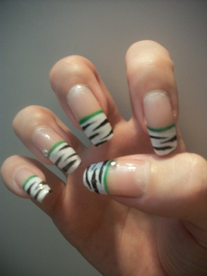 Believe it or not, these are my real nails! Just grown very long