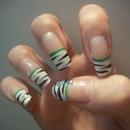 Long zebra nails