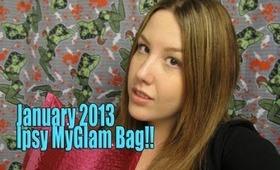 Ipsy MyGlam Bag January 2013!!