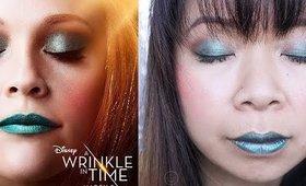 Disney's Wrinkle in Time Makeup Tutorial plus Elizabeth Arden Mini Giveaway  | MsLaBelleMel