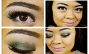 2013 Pantone Color Of The Year Emerald Makeup Tutorial // L'Oreal Eye Shadows // villabeauTIFFul
