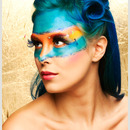 Bright fantasy make up