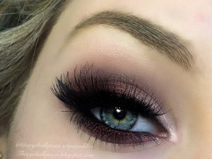 This is another look that's part of my Thanksgiving series.  It leans more sultry than my previous look that was dramatic.  For full details check out my blog :) http://theyeballqueen.blogspot.com/2015/11/shimmery-thanksgiving-makeup.html