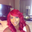 Ruby Fire hair Color