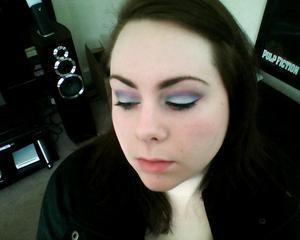 pale blue and purple, shame i have a bad camera