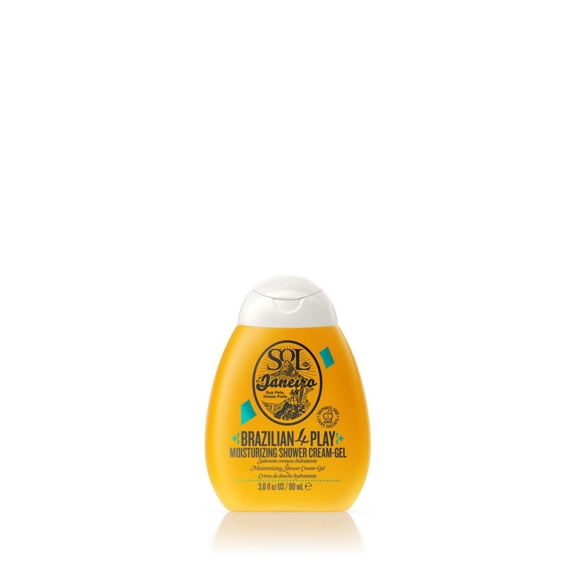 Sol de Janeiro Brazilian 4 Play Moisturizing Shower Cream-Gel 3.04 fl oz product swatch.