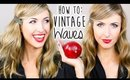 Easy Vintage Waves || Holiday Hairstyles